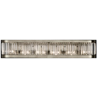 Crystal Enchantment 6 Light 38 inch Platinized Silver Sconce Wall Light