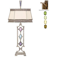 Fine Art Lamps Encased Gems 1 Light Table Lamp in Venerable Bronze Patina 707210-1ST