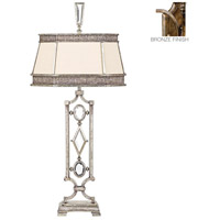 Encased Gems 38 inch 150 watt Venerable Bronze Patina Table Lamp Portable Light