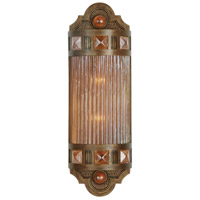Scheherazade 2 Light 7 inch Bronze Wall Sconce Wall Light