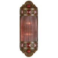 Fine Art Lamps 711150-4ST Scheherazade 2 Light 7 inch Bronze Wall Sconce Wall Light