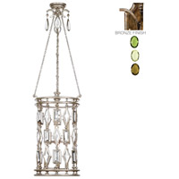 Fine Art Lamps Encased Gems 6 Light Lantern in Venerable Bronze Patina 711640-1ST