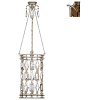 Fine Art Lamps Encased Gems 6 Light Lantern in Venerable Bronze Patina 711640-3ST