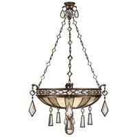 Fine Art Lamps 712240-3ST Encased Gems 3 Light 35 inch Bronze Pendant Ceiling Light