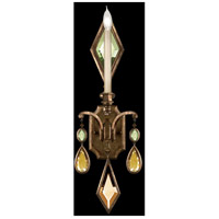 Fine Art Lamps Encased Gems 1 Light Sconce in Venerable Bronze Patina 717850-1ST