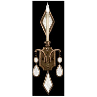 Fine Art Lamps Encased Gems 1 Light Sconce in Venerable Bronze Patina 717850-3ST