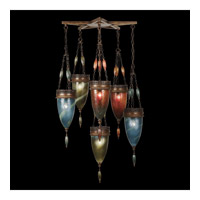 Fine Art Lamps Scheherazade 6 Light Pendant in Aged Dark Bronze 718340-5ST