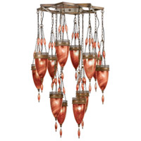 Scheherazade 12 Light 41 inch Bronze Pendant Ceiling Light