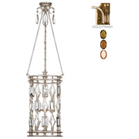 Fine Art Lamps Encased Gems 6 Light Lantern in Variegated Gold Leaf 727640-1ST photo thumbnail