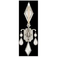 Fine Art Lamps 728750-3ST Encased Gems 1 Light 9 inch Silver Wall Sconce Wall Light