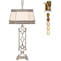 Fine Art Lamps Encased Gems 1 Light Table Lamp in Variegated Gold Leaf 730310-1ST photo thumbnail