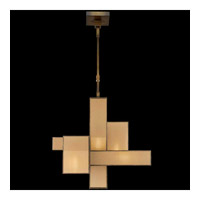 Fine Art Lamps Perspectives 5 Light Chandelier in Patinated Golden Bronze 731840GU