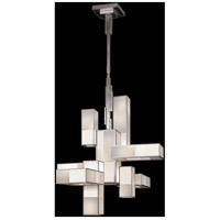 Fine Art Lamps 732040-2GU Perspectives 12 Light 39 inch Silver Chandelier Ceiling Light