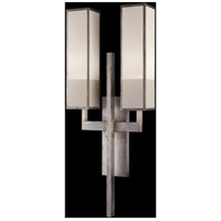 Fine Art Lamps Perspectives 2 Light Sconce in Muted Silver Leaf 733050-2GU