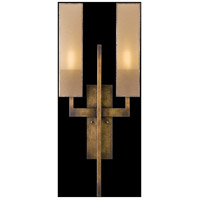 Fine Art Lamps Perspectives 2 Light Sconce in Patinated Golden Bronze 733050GU