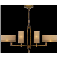 Perspectives 6 Light 42 inch Patinated Golden Bronze Chandelier Ceiling Light
