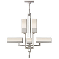 Perspectives 8 Light 45 inch Silver Chandelier Ceiling Light