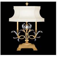 Fine Art Lamps 737910-SF3 Beveled Arcs 34 inch Gold Leaf Table Lamp Portable Light