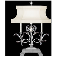 Fine Art Lamps 737910-SF4 Beveled Arcs 34 inch Silver Leaf Table Lamp Portable Light