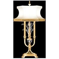 Fine Art Lamps 738210-SF3 Beveled Arcs 37 inch Gold Leaf Table Lamp Portable Light