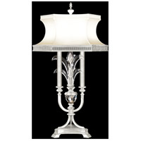 Fine Art Lamps 738210-SF4 Beveled Arcs 37 inch Silver Leaf Table Lamp Portable Light