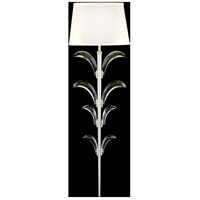 Fine Art Lamps 738450-SF4 Beveled Arcs 1 Light 9 inch Silver Leaf Sconce Wall Light