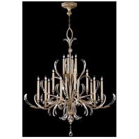 Fine Art Lamps 739640ST Beveled Arcs 16 Light 58 inch Silver Chandelier Ceiling Light