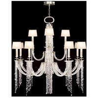 Fine Art Lamps 749040ST Cascades 16 Light 52 inch Silver Chandelier Ceiling Light