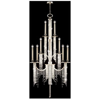 Fine Art Lamps Cascades 16 Light Chandelier in Warm Silver Leaf 749640ST