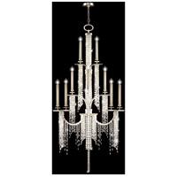 Fine Art Lamps 749640ST Cascades 16 Light 45 inch Silver Chandelier Ceiling Light
