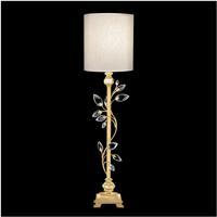 Fine Art Lamps 752915-SF33 Crystal Laurel 37 inch Gold Leaf Console Lamp Portable Light