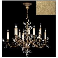 Fine Art Lamps 753140-SF3 Crystal Laurel 10 Light 43 inch Gold Leaf Chandelier Ceiling Light