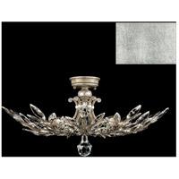 Fine Art Lamps 753440-SF4 Crystal Laurel 5 Light 28 inch Silver Leaf Semi-Flush Mount Ceiling Light