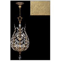 Fine Art Lamps 753840-SF3 Crystal Laurel 6 Light 18 inch Gold Leaf Pendant Ceiling Light
