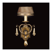 Fine Art Lamps Golden Aura 1 Light Sconce in Aged Gold Patina 755550ST