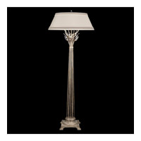 Fine Art Lamps Crystal Laurel 1 Light Floor Lamp in Antiqued Warm Silver Leaf 758820ST