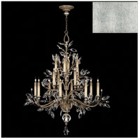 Fine Art Lamps 759440-SF4 Crystal Laurel 16 Light 45 inch Silver Leaf Chandelier Ceiling Light