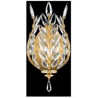 Fine Art Lamps 759550-SF3 Crystal Laurel 1 Light 8 inch Gold Leaf Sconce Wall Light