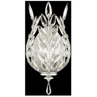 Fine Art Lamps 759550-SF4 Crystal Laurel 1 Light 8 inch Silver Leaf Sconce Wall Light