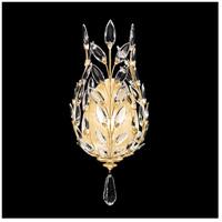 Fine Art Lamps 759650-SF3 Crystal Laurel 1 Light 9 inch Gold Leaf Sconce Wall Light