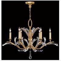 Fine Art Lamps 761240ST Beveled Arcs 6 Light 42 inch Gold Chandelier Ceiling Light