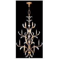 Fine Art Lamps 762940ST Beveled Arcs 16 Light 48 inch Gold Chandelier Ceiling Light