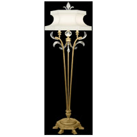 Fine Art Lamps Beveled Arcs 1 Light Floor Lamp in Muted Gold Leaf 768620ST