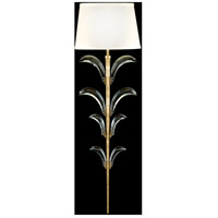 Fine Art Lamps Beveled Arcs 1 Light Sconce in Muted Gold Leaf 769550ST