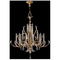 Fine Art Lamps 770040ST Beveled Arcs 16 Light 58 inch Gold Chandelier Ceiling Light