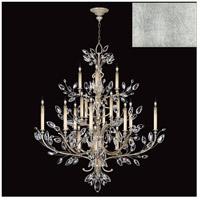 Fine Art Lamps 771140-SF4 Crystal Laurel 20 Light 57 inch Silver Leaf Chandelier Ceiling Light