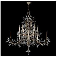 Fine Art Lamps 771240ST Crystal Laurel 20 Light 75 inch Silver Chandelier Ceiling Light
