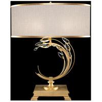 Fine Art Lamps 771510-SF33 Crystal Laurel 31 inch Gold Leaf Table Lamp Portable Light
