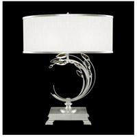 Fine Art Lamps 771510-SF41 Crystal Laurel 31 inch Silver Leaf Table Lamp Portable Light
