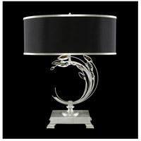 Fine Art Lamps 771510-SF42 Crystal Laurel 31 inch Silver Leaf Table Lamp Portable Light